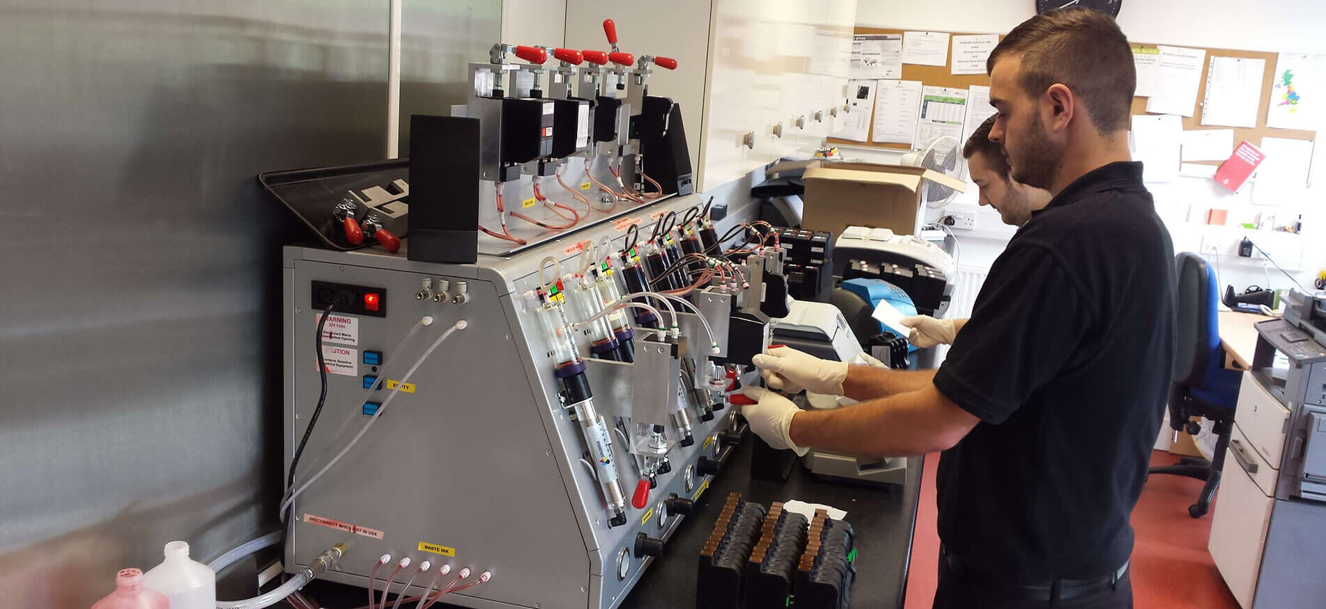 Refilling Machine Image 1